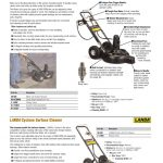 landa pressure washer accessories