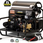 karcher gas or diesel skid mounted pressure washers