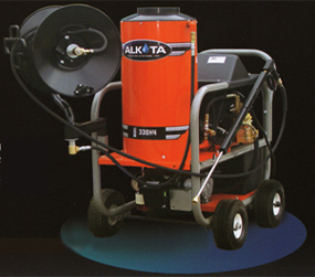 Alkota X4 Cleaning Crew Hot Water Pressure Washer