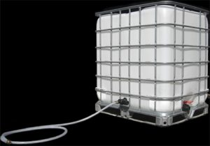 water storage tanks by action cleaning equipment