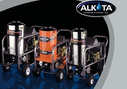 alkota 4 wheel series pressure washers