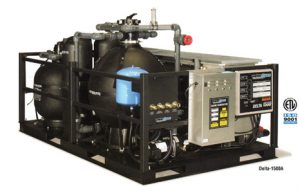 delta wash water recycling system