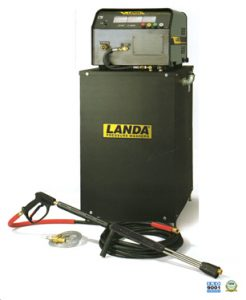 landa ehw all electric hot water pressure washer