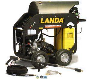 landa mhc hot water pressure washer