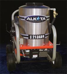 alkota 213ax4 hot water pressure washer