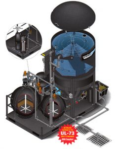 watermaze clp wash water recycling system