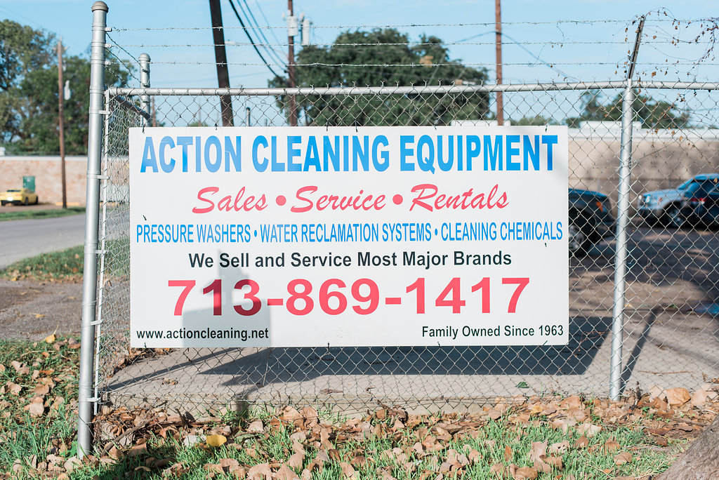 action cleaning equipment