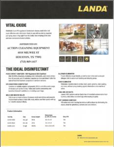 Landa Vital Oxide Disinfectant